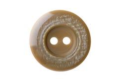 Macro de costura del botón Fotografía de archivo libre de regalías