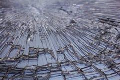 Macro de cristal rota Fotografía de archivo libre de regalías