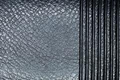 Macro de cuir de relief Photographie stock