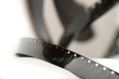 Macro de filmstrook van de close-up Stock Foto