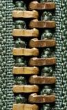 Macro de la cremallera Fotografía de archivo libre de regalías