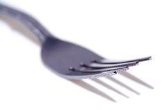 Macro de la fork Foto de archivo libre de regalías