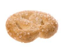 Macro de la galleta de mantequilla Foto de archivo libre de regalías