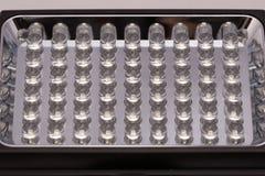 Macro de la lámpara del LED Imagen de archivo libre de regalías