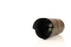 Macro de la lente de cámara imagen de archivo
