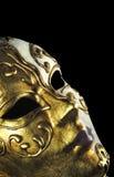 Macro de la máscara de Venitian Fotografía de archivo libre de regalías