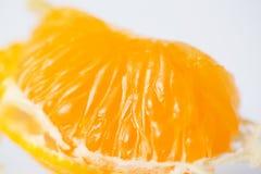Macro de la mandarina Imagen de archivo