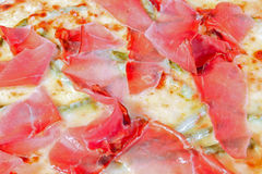Macro de la pizza Fotos de archivo libres de regalías