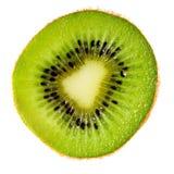 Macro de la rebanada del kiwi Fotografía de archivo libre de regalías