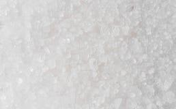 Macro de la sal del mar imagenes de archivo