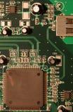 Macro de la tarjeta de circuitos fotografía de archivo libre de regalías