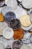 Macro de las monedas de RMB Fotografía de archivo