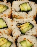 Macro de Maki Sushi Foto de archivo