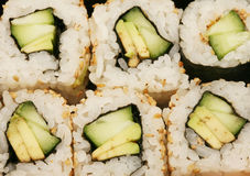 Macro de Maki Sushi Fotos de Stock