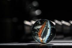 Macro de marbre de Glas Image stock