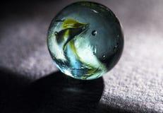 Macro de marbre en verre a Images libres de droits