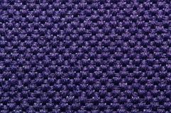 Macro de nylon da tela Fotos de Stock