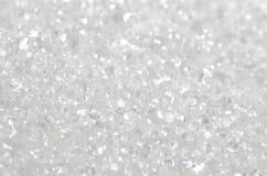 Macro de sucre Photographie stock