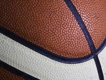 Macro de texture de basket-ball Photo libre de droits