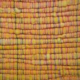 Macro de uma tela amarela Fotografia de Stock Royalty Free