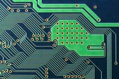 Macro de una tarjeta de circuitos Fotografía de archivo