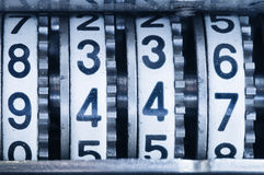 Macro de viejos rollos contrarios Imágenes de archivo libres de regalías