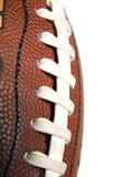 Macro dei punti di gioco del calcio Fotografia Stock Libera da Diritti