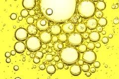 Macro del aceite de oliva Imagen de archivo