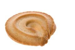 Macro del biscotto di burro Fotografie Stock
