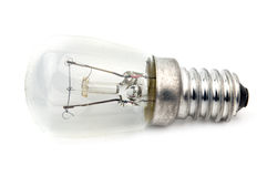Macro del bulbo eléctrico Foto de archivo