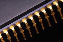 Macro del chip Fotografia Stock Libera da Diritti