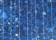 Macro del comitato solare Fotografia Stock