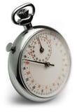 Macro del cronómetro Foto de archivo libre de regalías