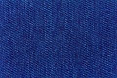 Macro del dril de algodón de los pantalones vaqueros Fotografía de archivo libre de regalías