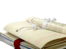 Paquete legal Fotografía de archivo