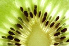 Macro del kiwi Foto de archivo