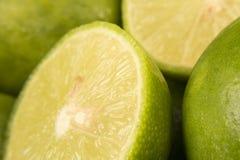 Macro del limón Fotografía de archivo libre de regalías