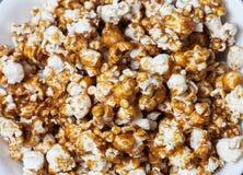 Macro del maíz del caramelo Foto de archivo libre de regalías