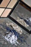 Macro del maquillaje Fotografía de archivo libre de regalías