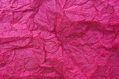 Macro del papel rosado Fotografía de archivo libre de regalías