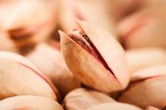 Macro del pistacchio Immagine Stock