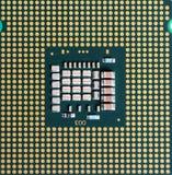 Macro del procesador de la CPU Imagen de archivo