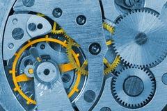 Macro del reloj Imagen de archivo libre de regalías