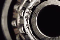 Macro del rodamiento de rodillos Fotografía de archivo libre de regalías