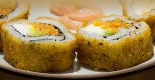 Macro del sushi Foto de archivo libre de regalías