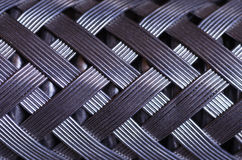 Macro del tubo flessibile intrecciata collegare Fotografie Stock Libere da Diritti