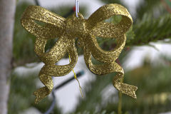 Macro dell'albero di Natale Immagini Stock Libere da Diritti