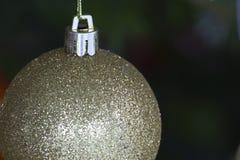 Macro dell'albero di Natale Fotografie Stock