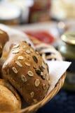 Macro dell'alimento del pane dettagliata Fotografia Stock Libera da Diritti