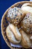 Macro dell'alimento del pane dettagliata Immagine Stock